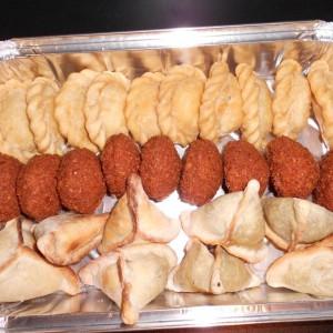 Sambousek Fromage-Sambousek Viande - Falafel- Fatayer épinard