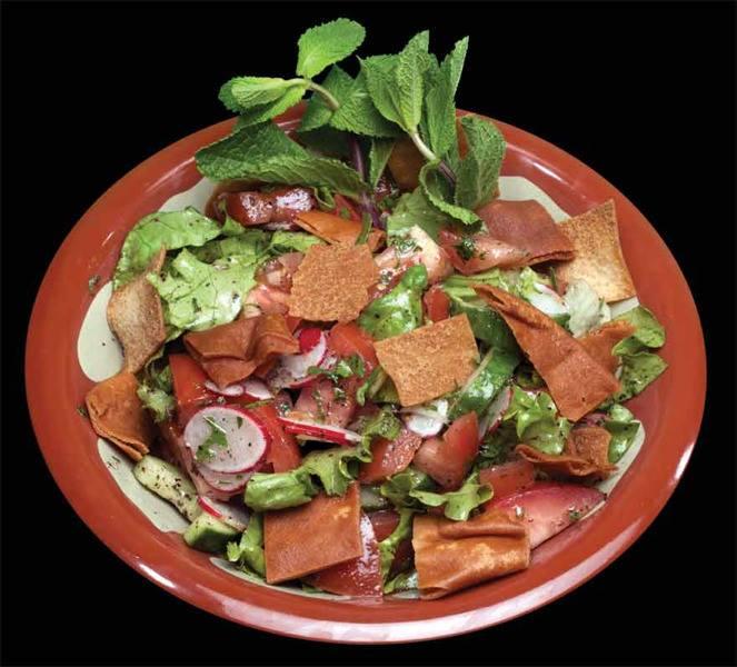 salade fatouche
